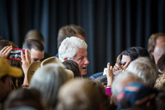 Bill Clinton Stumps for Hillary in Bend, Oregon Stock Photography