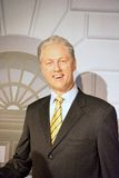 Bill Clinton Wax Figure Arkivfoto
