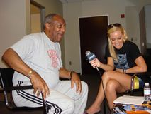 Bill Cosby, Katie Lohmann Immagine Stock