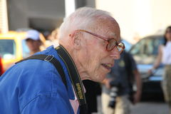 Bill Cunningham, new york times photographer Royalty Free Stock Photography