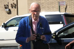 Bill Cunningham, new york times photographer Stock Image