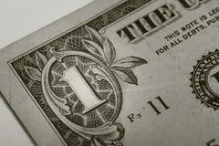 Bill del dólar Imágenes de archivo libres de regalías