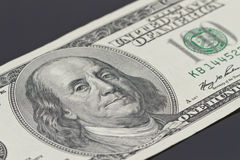 Bill di cento dollari Fotografia Stock Libera da Diritti