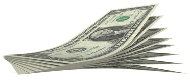 bill dolara Zdjęcie Stock