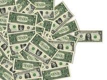 bill dolary amerykańskie jeden fotografia stock