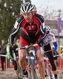 Bill Elliston - Pro Cyclocross Racer Stock Photo