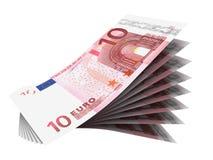 bill euro Zdjęcie Stock