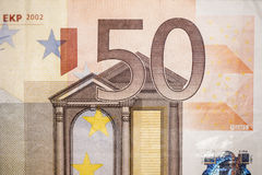 Bill of fifty euro Stock Photo