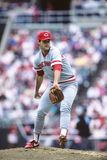 Bill Gullickson, Cincinnati Reds. Stock Photo