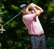 Bill Haas, 2011 Fedex champion. Royalty Free Stock Image