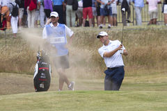 Bill Haas Bunker Shot Stockfoto