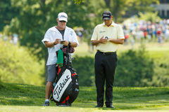 Bill Haas at the Memorial Tournament Royalty Free Stock Image