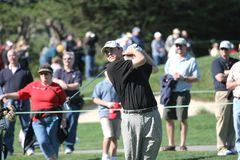 Bill Haas, Pebble Beach 2006 Stock Photography