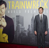 Bill Hader. Actor,  comedian, and Saturday Night Live alum, arrives on the red carpet for the world premiere of the romantic comedy, Trainwreck, at Alice Tully Stock Images