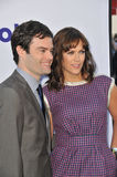 Bill Hader & Maggie Carey Stock Images