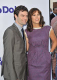 Bill Hader & Maggie Carey Royalty Free Stock Photography