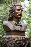 Bill Hickok Grave Monument sauvage photographie stock