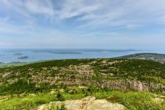 Bill Hill Overlook - Acadia-Nationalpark Lizenzfreies Stockfoto