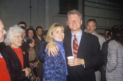 Bill and Hillary Clinton at St. Louis campaign. Bill and Hillary Clinton at a St. Louis campaign rally in 1992, Bill Clinton's final day of campaigning in St stock photos
