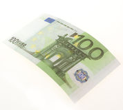 Bill of hundred euros Royalty Free Stock Image