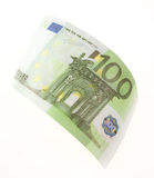 Bill hundred euros Royalty Free Stock Photos