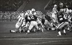 Bill Laskey pund Oakland Raiders #42 Royaltyfri Bild