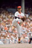 Bill Lee, Boston Red Sox pitcher. Boston Red Sox pitcher Bill `Spaceman` Lee. Image taken from color slide Stock Image