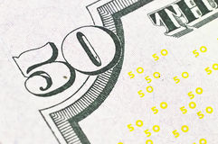 50 $ bill Stock Photography