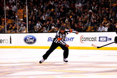 Bill McCreary Former NHL Referee Royalty Free Stock Images