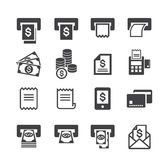 Bill and money icon Royalty Free Stock Photo