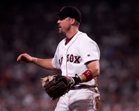 Bill Mueller, Boston Red Sox Imagem de Stock