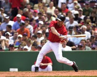Bill Mueller, Boston Red Sox Fotografia de Stock