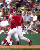 Bill Mueller,  Boston Red Sox. Boston Red Sox 3B Bill Mueller #11. (Image from color slide Royalty Free Stock Photography