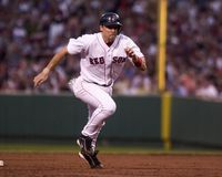 Bill Mueller, les Red Sox de Boston Images stock