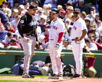 Bill Mueller, les Red Sox de Boston Photographie stock