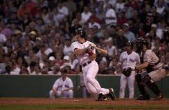 Bill Mueller, les Red Sox de Boston Photos stock