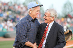 Bill Murray and Mayor Joseph P. Riley, Jr. Stock Photo