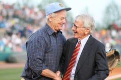 Bill Murray and Mayor Joseph P. Riley, Jr. Stock Photo