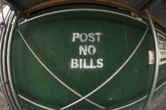 bill nie ma poczty Zdjęcie Stock