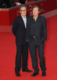 Bill Nighy, David Hare. Bill Nighy and David Hare attend the premiere of Page Eight during the 6th International Rome Film Festival. November 1, 2011, Rome Royalty Free Stock Image