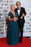 Bill Nighy, Helen Mirren Stockfotos