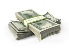 Bill_2_paper_stacks 免版税图库摄影