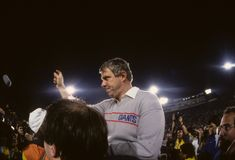 Bill Parcells New York Giants Head Coach royalty free stock photography