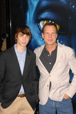 Bill Paxton. And son at the Los Angeles Premiere of 'Avatar,' Chinese Theater, Hollywood, CA. 12-16-09 royalty free stock images
