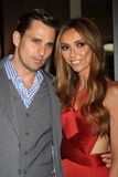 Bill Rancic, Giuliana Rancic arrives at the 37th Annual Gracie Awards Gala. LOS ANGELES - MAY 22:  Bill Rancic, Giuliana Rancic arrives at the 37th Annual Gracie Royalty Free Stock Photography
