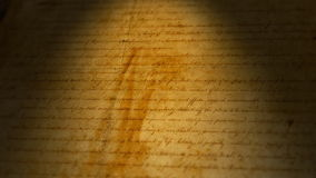 Bill of Rights, USA stock video footage
