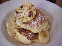 Bill ` s Ricotta znany na całym świecie Hotcakes zdjęcie royalty free
