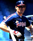 Bill Schroeder, California Angels Stock Photography