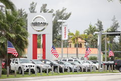 Bill Seidle Nissan Miami Royalty Free Stock Photo