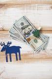 bill sto dolarów Zdjęcie Royalty Free